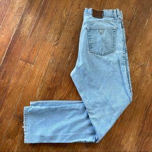 vintage Guess Jeans Classic Light Wash W 36 L 32